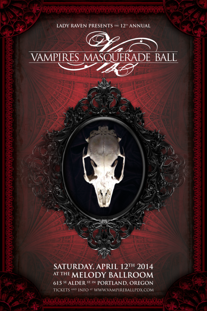 Vampires stalk the streets of Portland: The Vampire's Ball 2014